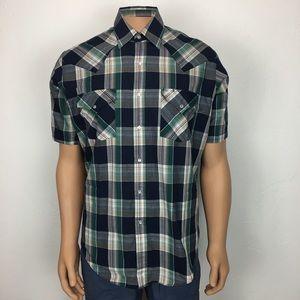 a9bb235b Ely Plains Pearl Snap Short Sleeve Western Shirt